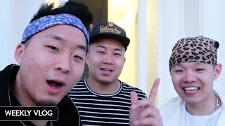 WHAT WERE WE DOING AT A HOLLYWOOD MANSION? - Fung Bros Vlog #5