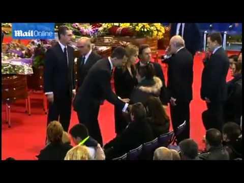 Queen Letizia and King Felipe arrive at...