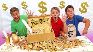 We Found Scrooge McDuck's Treasure Chest On The Most Epic DuckTales Treasure Hunt Adventure!