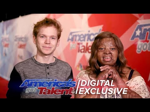 Finalists Chase Goehring And Kechi Want You To Audition For AGT - America's Got Talent 2017