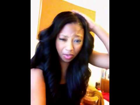 California lace wig closure with Remy Elegance hair