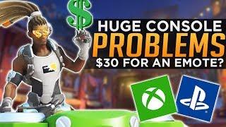 Overwatch: Blizzard Ignoring Console Players!? - $30 Lucio Emote Controversy