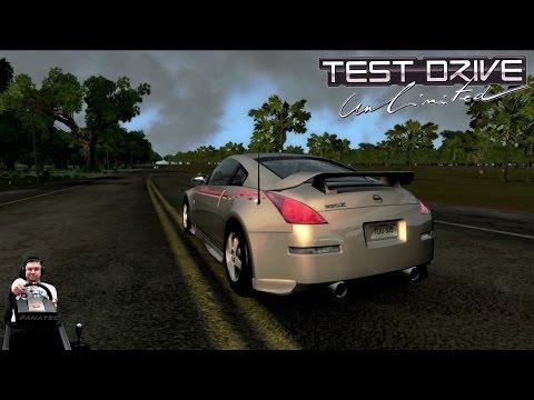 Гоночки на Nissan 350Z Nismo R-Tune Power Test Drive Unlimited  на руле Fanatec CSL Elite