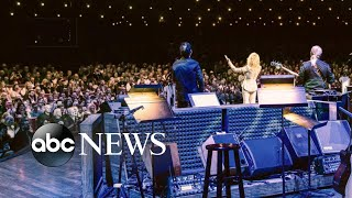 Dolly Parton plays 2 shows to celebrate 50 years on Grand Ole Opry