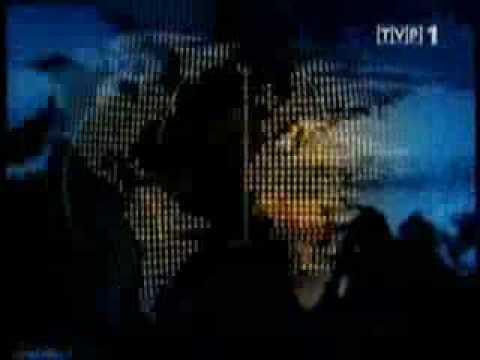 Czołówka Wiadomości TVP1