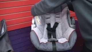 Baby Trend Ez Flex Loc - Cleaning Car Seat  Part 2