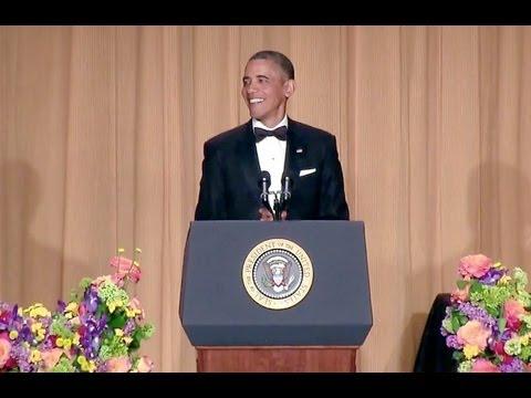 President Obama at White House Correspondents Dinner