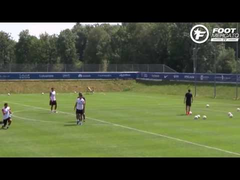 PSG : le Crossbar Challenge de Ben Arfa et Thiago Silva