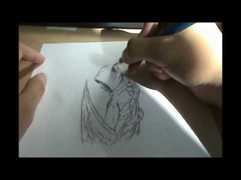 Видео как нарисовать Алекса Мерсера