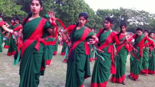Bangladeshi School Girls dance