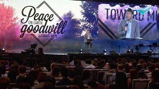 City Harvest Church: Tan Ye Peng - Peace On Earth, Goodwill Toward Men - Clip 1/3