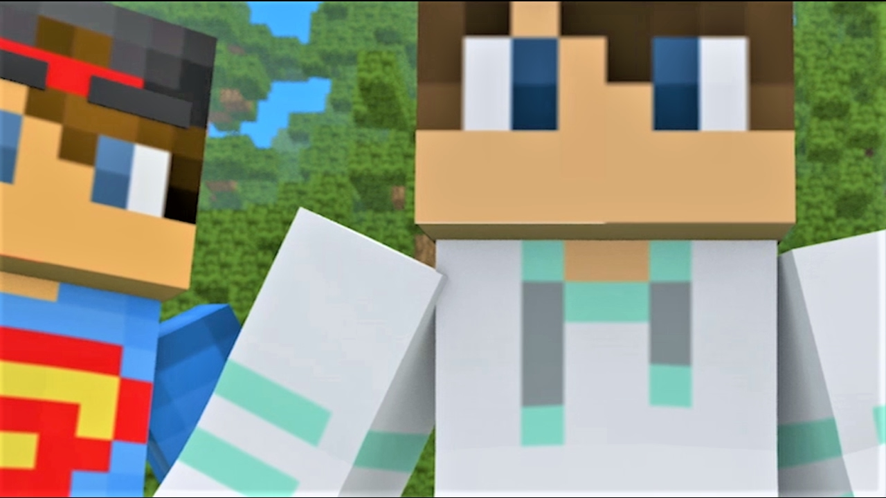 """NEW MINECRAFT SONG: """"Castle Raid 1-5"""" The Complete Minecraft Music Video Series Minecraft Song 2017"""