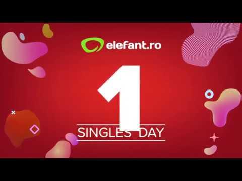 Singles' Day - 11.11 - la elefant.ro (16:9) (19 sec)