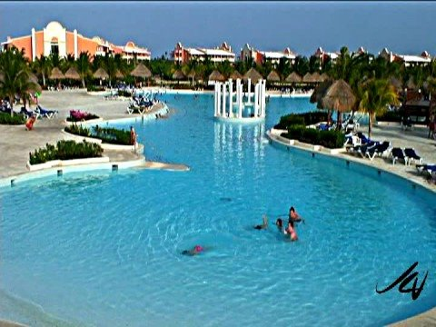 Riviera Maya Grand Palladium Pool View Youtube