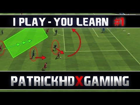 Видео как научиться играть в FIFA