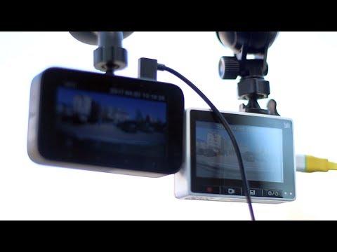 Xiaomi mijia Car DVR против Xiaomi Yi Car DVR ► КАКОЙ ВИДЕОРЕГИСТРАТОР СЯОМИ ЛУЧШЕ?