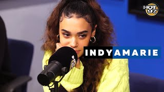 Indyamarie Talks New York Fashion Week, Giving Back To Fans, & New Music with @HipHopMike
