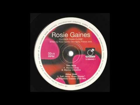 Rosie Gaines - Closer Than Close Frankie Knuckles Classic Club Mix