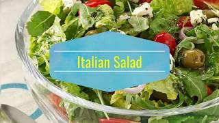 Italian salad recipe in urdu.how to make Italian salad simple and easy by irum zain.