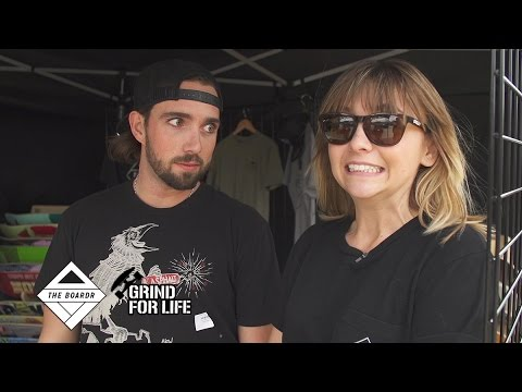 Amelia Chats with You at the Grind for Life Lakeland Contest