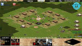 AOE|| 4VS4 || BIBICLUB VS GAMETV 14/08/2017