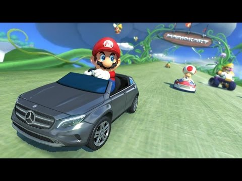 Mario Kart 8 DLC & Mercedes Benz Cars - #CUPodcast