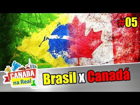 CANADA NA REAL: Brasil x Canada