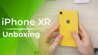 Apple iPhone XR Unboxing