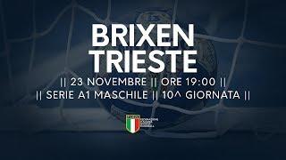 Serie A1M [10^]: Brixen - Trieste 31-23