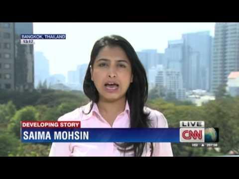 Explosions hit Thai protest in Bangkok; 28 injured