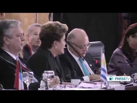 Mercosur summit in Caracas condemns Israeli war on Gaza