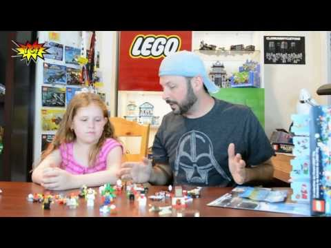 LEGO CITY 2013 City Advent Calendar 60024 Review