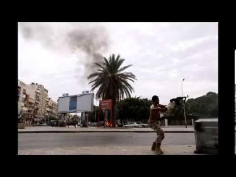 Clashes Between Armed Group And Army In Benghazi