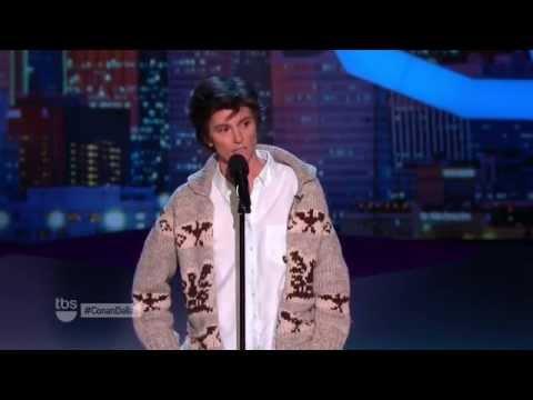 Tig Notaro jokes about her breast cancer on CONAN