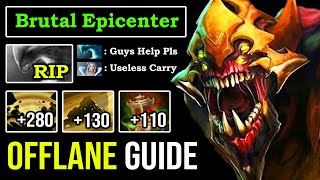 HOW TO OFFLANE SAND KING LIKE A 9K GOD 100% Counter Morph with Epicenter & First Item Vessel DotA 2