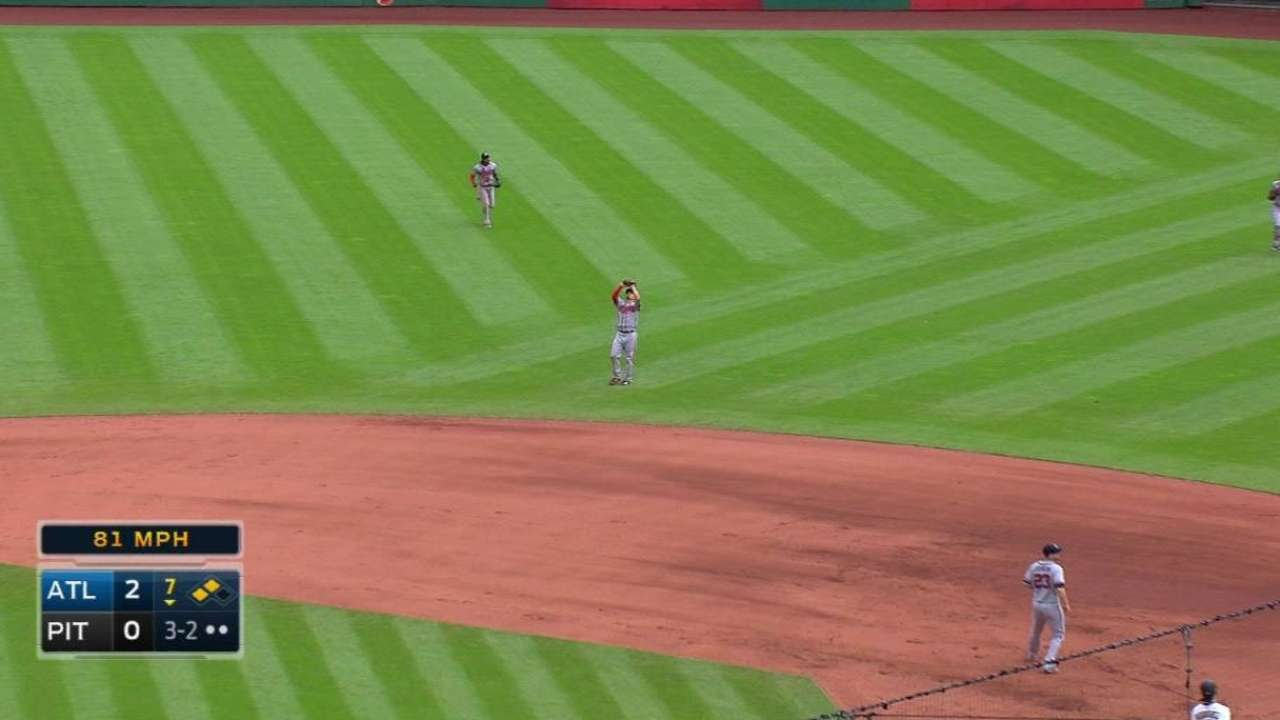 ATL@PIT: Wood retires Rodriguez to end threat