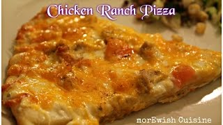 Chicken Ranch Pizza by morEwish
