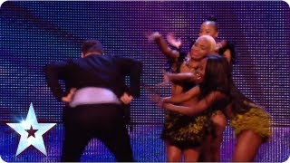 David Walliams gets his booty out! | BGT Unseen with Morrisons | Britain's Got Talent 2013