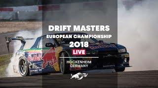 Drift Masters European Championship 2018 - LIVE Finals in Hockenheim, Germany