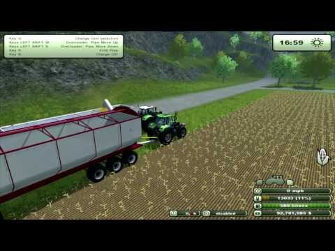 Farming Simulator 2013 Mod Review Barber mother bin(EN)