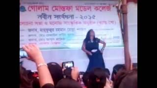 BANGLADESI BEAUTIFUL COLLEGE  GIRL  AWESOME DANCE VIDEO