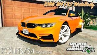 GTA 5 BMW M4 F82 WideBody