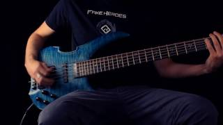 FAKE HEROES - Skyline (Bass playthrough)