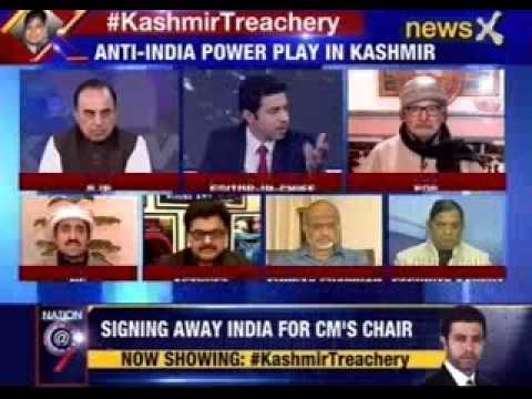 Nation at 9: KashmirTreachery: PDP wants Modi to sign away India
