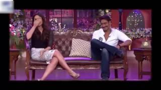 Kapil Sharma Karina Ajay Devgun in The Kapil Sharma Show