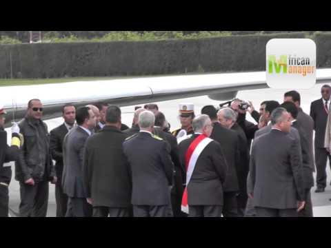 Mahmoud Abbas à Tunis pour une visite officielle de travail