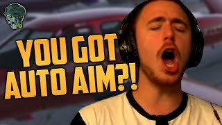YOU GOT AUTO AIM?! (GTA V Funny Moments)