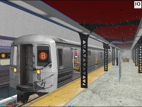 OpenBVE: R68 B Train from Norwood-205th Street to Brighton Beach (In Blizzard!)
