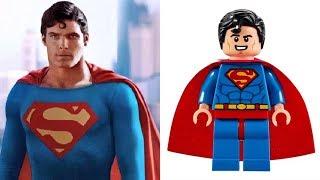 LEGO SUPERMAN - Minifigures VS Movies & Comics etc.