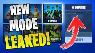 *NEW* Zombies Gamemode in Fortnite Battle Royale!! (ATTACK OF THE NOOBS) | Fortnite Funny Moments